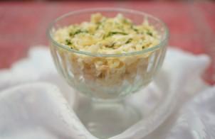 Салат из кальмаров и редьки