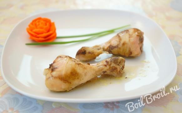 Курица в банке (в духовке)