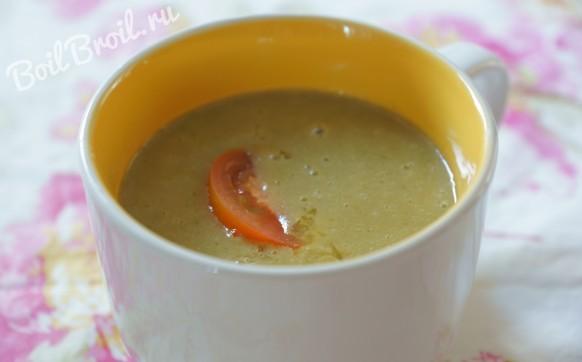 Диетический суп-пюре из овощей