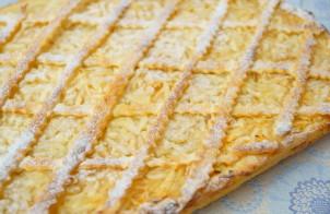 Пирог дрожжевой с яблоками