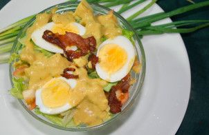 Овощной салат на скорую руку
