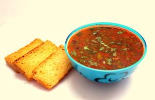 Суп из красной чечевицы вегетарианский