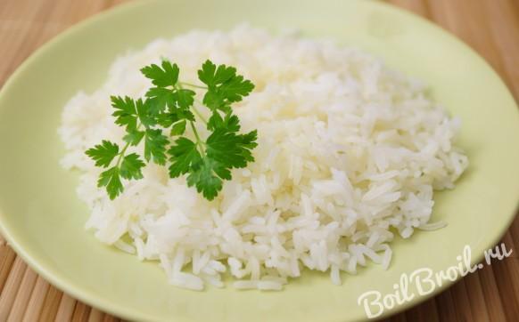 Запеченный рис в духовке