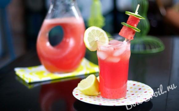 Лимонад из арбуза
