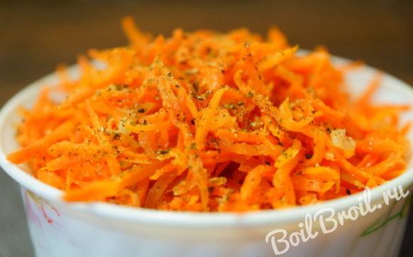 Морковь по корейски в домашних условиях