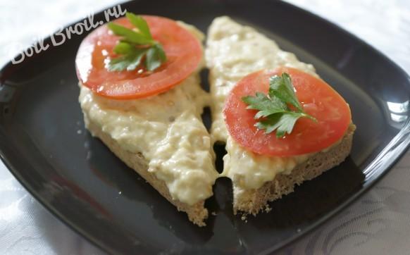 Запеченные баклажаны с сыром
