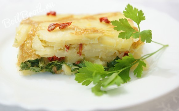 Картофельная тортилья