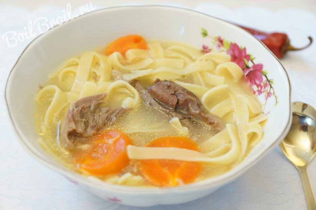 Простой суп из баранины