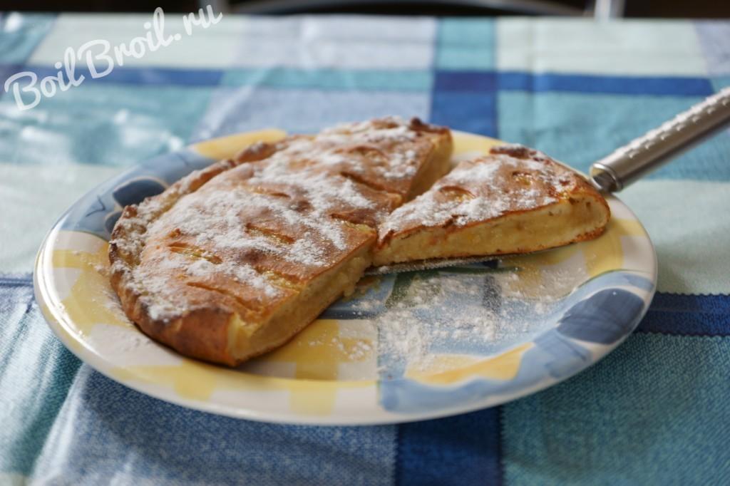 Пирог с крыжовником в духовке рецепт
