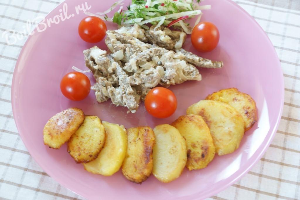 Калорийность из вареной картошки в жареную