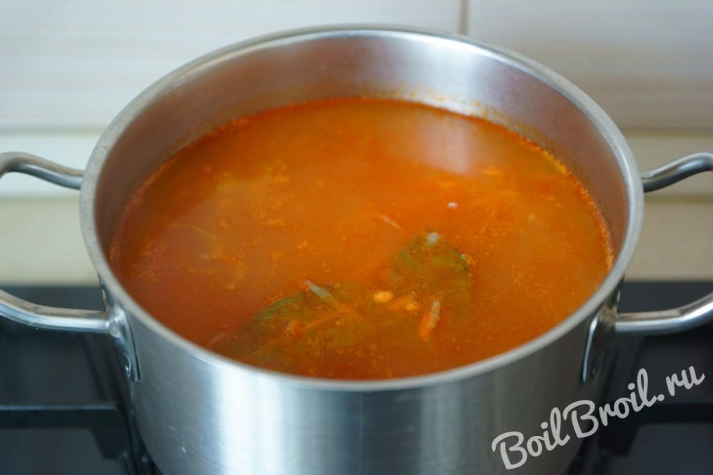Рецепт пошаговый с суп щи из