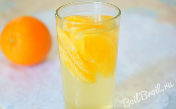 Компот из свежих апельсинов