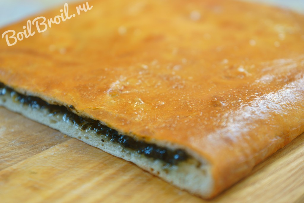 Начинка для пирога из щавеля с сахаром