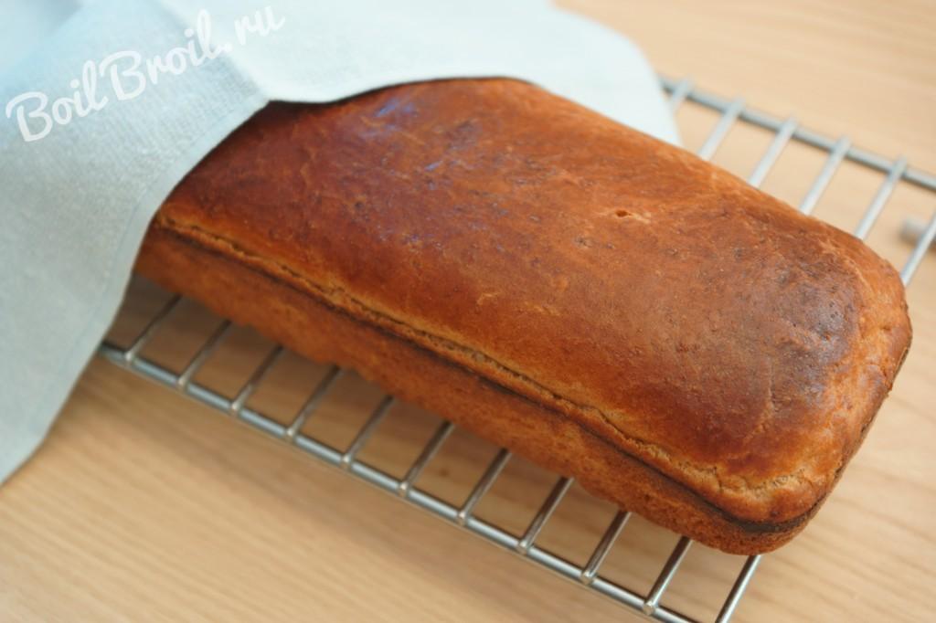 Рецепт хлеба в духовке пошагово с