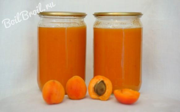 Как сделать пюре из абрикосов на зиму ребенку