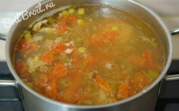 Суп со свежим горохом пошаговый рецепт