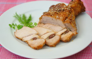 Жареный кусок свинины
