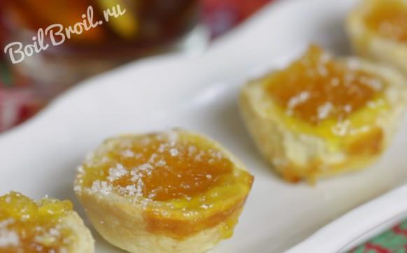 Печенье с начинкой из варенья