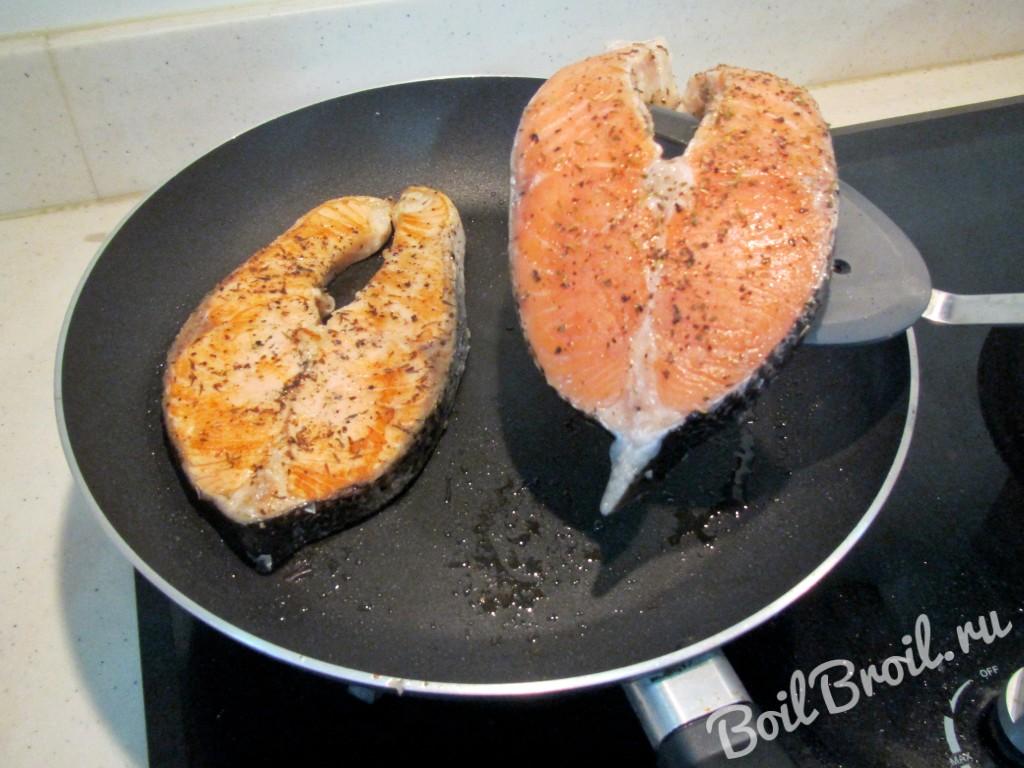 Форель на сковороде гриль рецепты