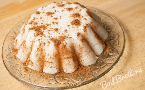 Десерт бланманже