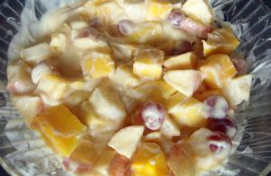 Фруктовый салат-десерт
