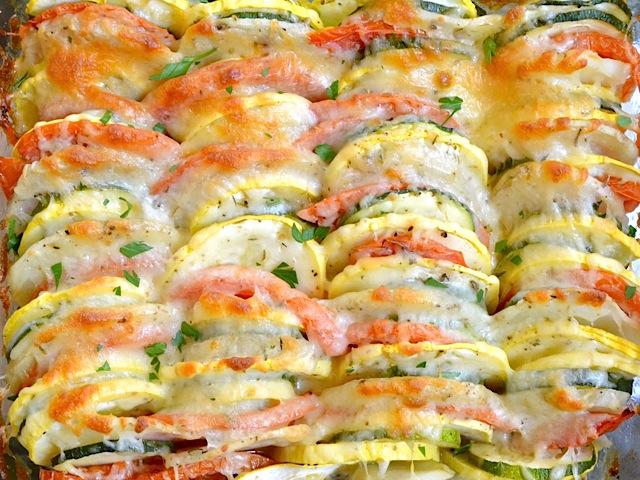Рататуй с сыром в духовке рецепт с фото - nu