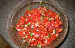 Сальса из помидоров