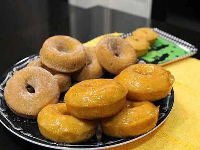 Тыквенные пончики в духовке 10