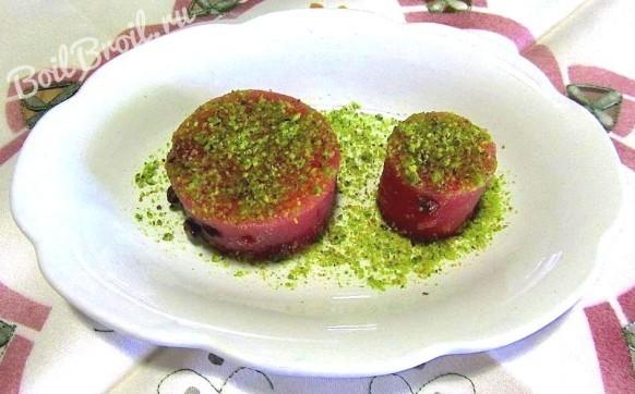 Желе из арбуза
