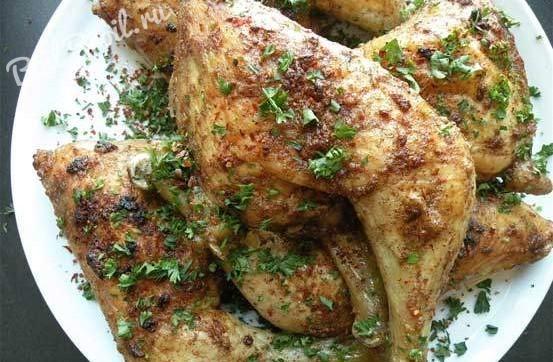 Куриные окорочка, запеченные в духовке