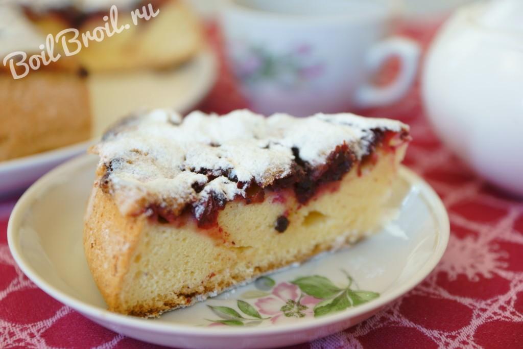 бисквитное пирожное с ягодами пошаговый рецепт с фото