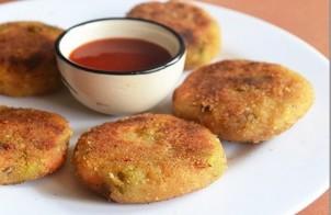 рецепт картофельных котлет с овощами