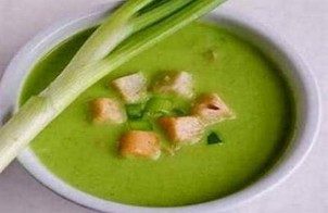 Суп-пюре из лука