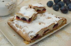 Слоено-бисквитный пирог