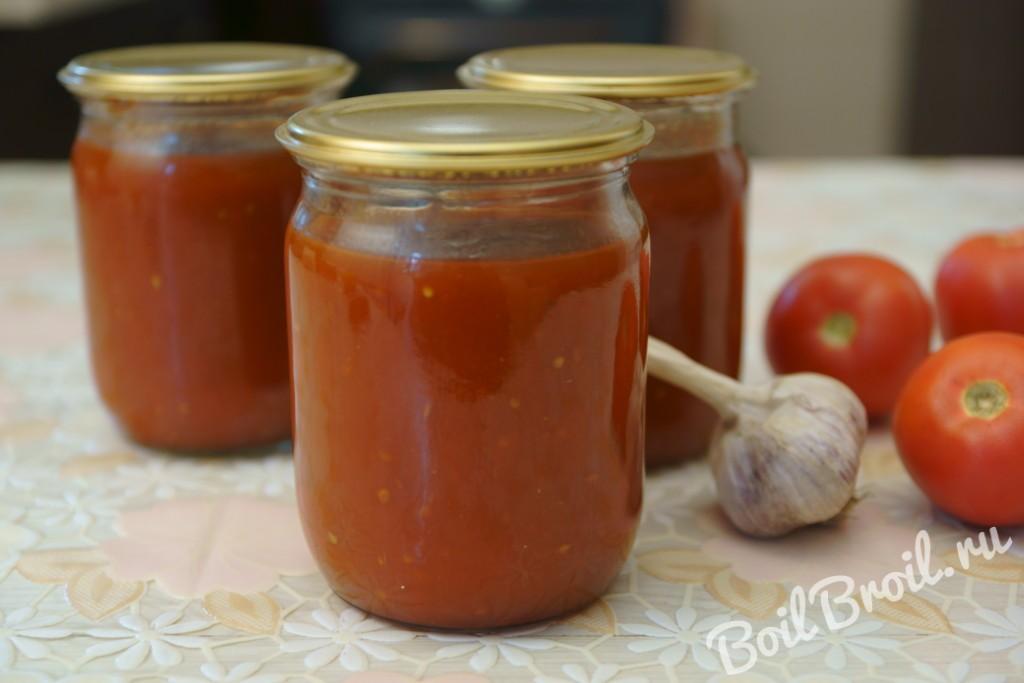 Как приготовить домашний кетчуп фото