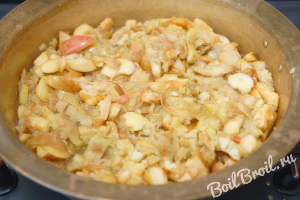 варенье из яблок в духовке рецепт