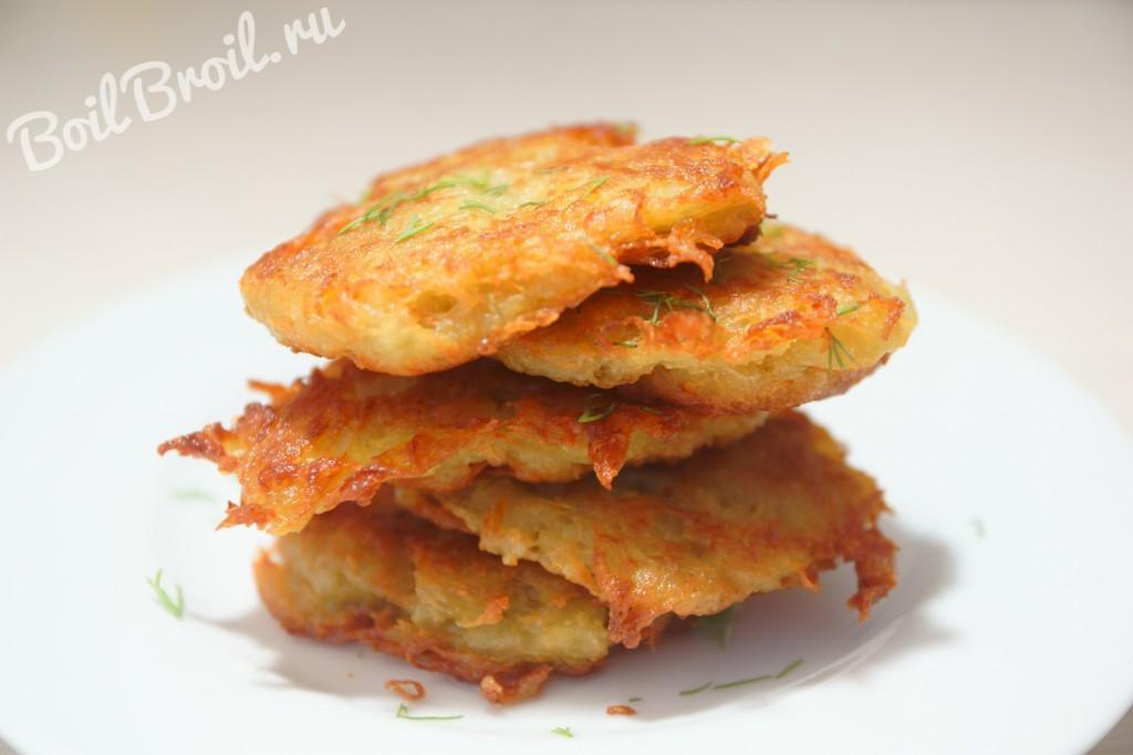 драники картофельные рецепт пошаговый с фото классические