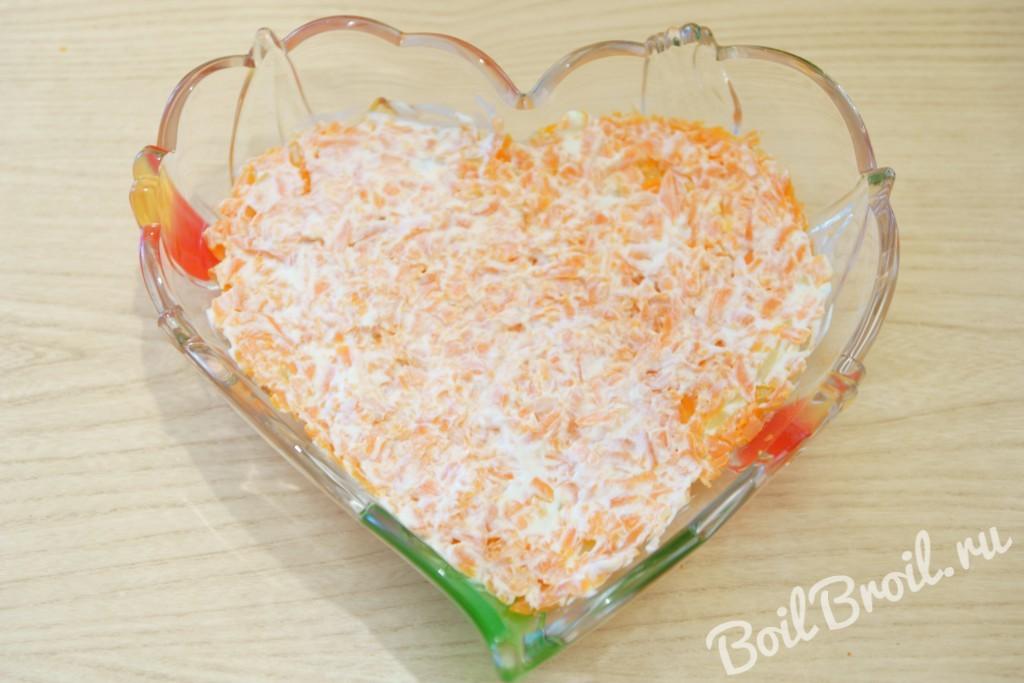 Салат из запеченной курицы