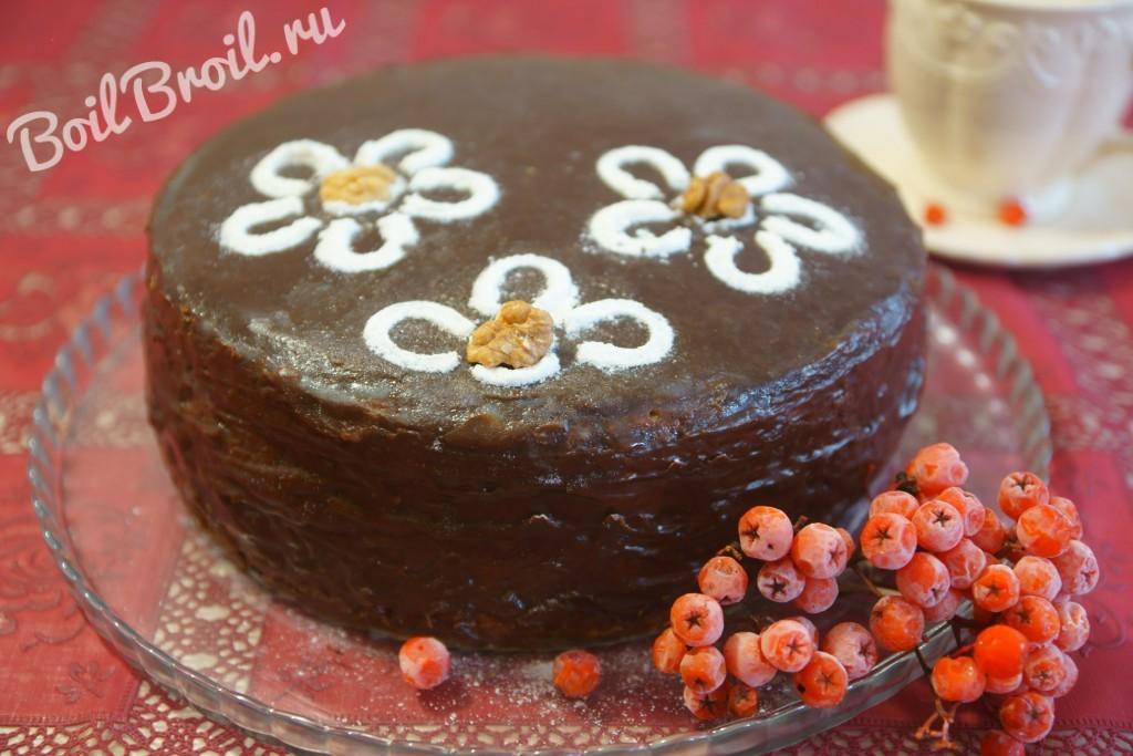 Торт з чорносливом фото и рецепт