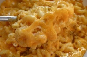 Запеканка из макарон с сыром в духовке