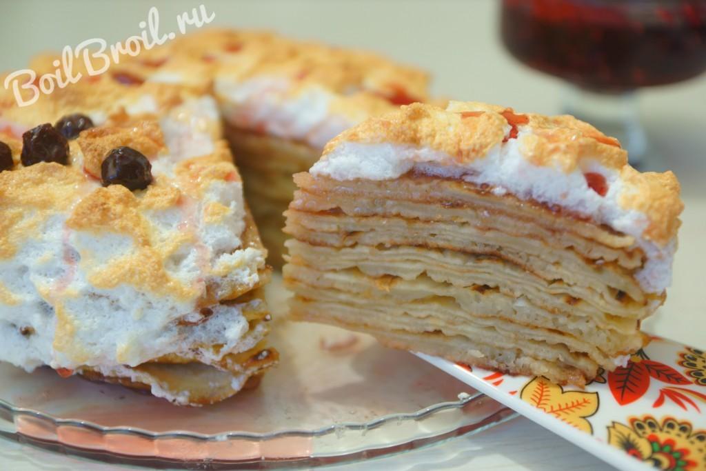Торт в мультиварке рецепт с видео