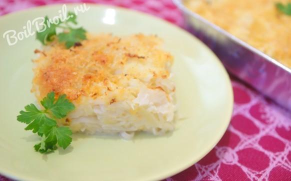 Капуста запеченная в духовке с сыром