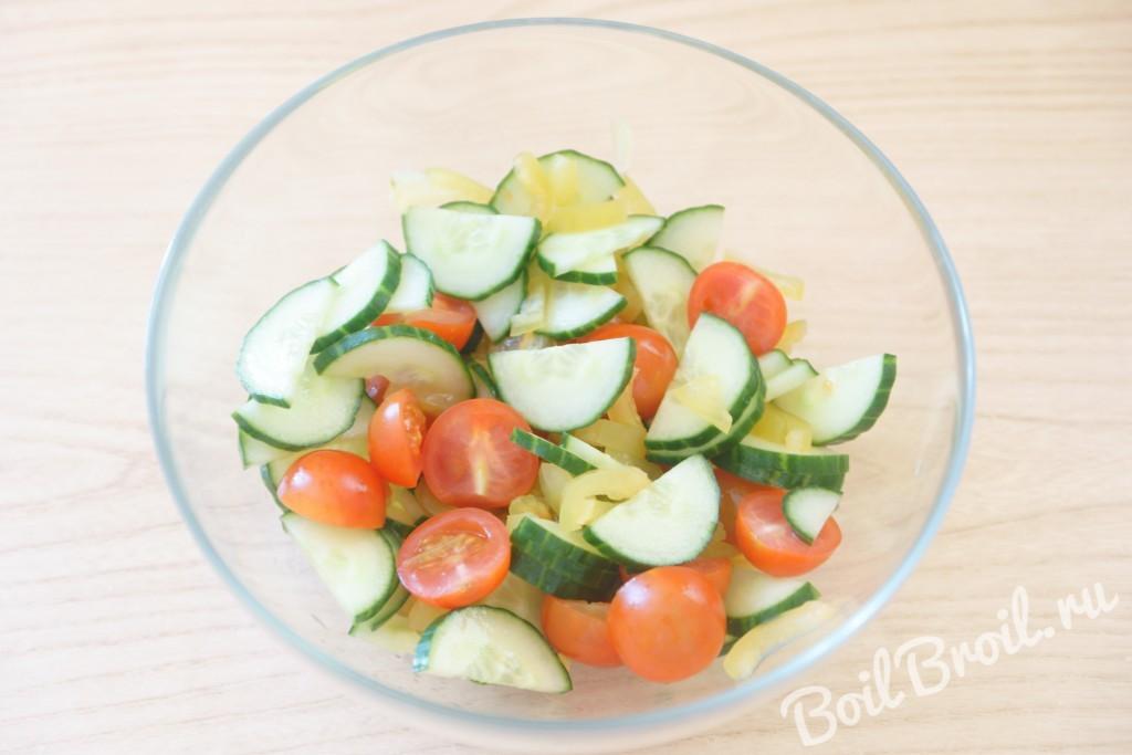 Фото рецепты салатов с оливками