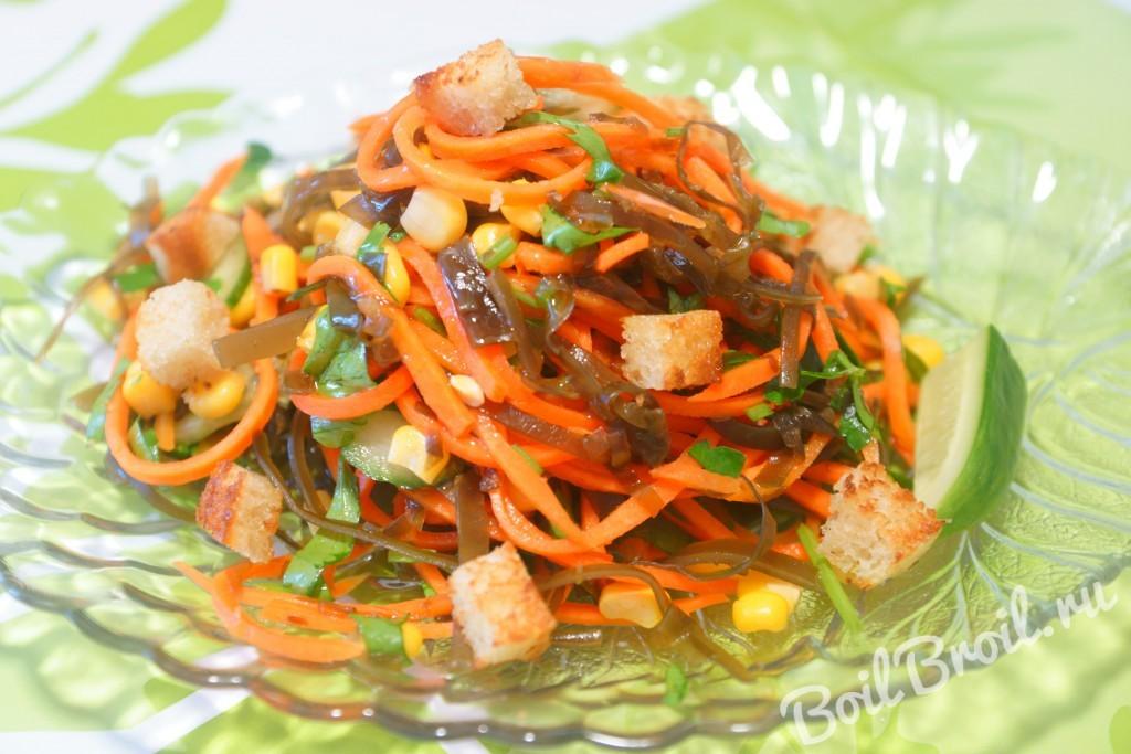 Салат корейская морковка огурец сыр