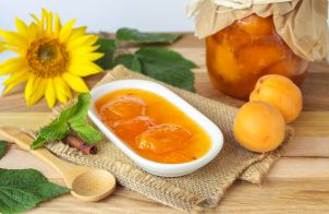 Вкусное абрикосовое варенье дольками