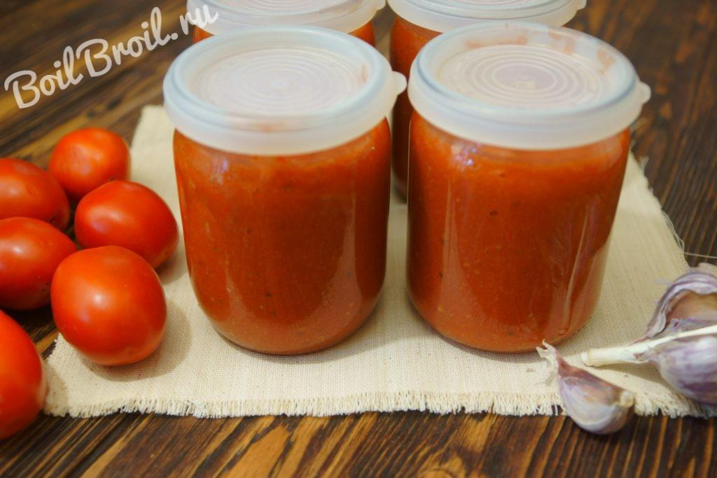 Аджика помидоры перец чеснок на зиму в домашних условиях 84