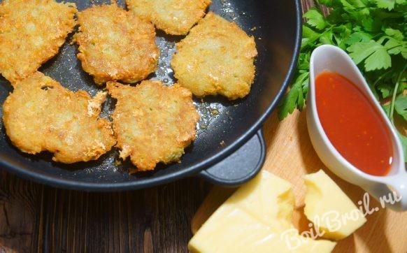 Драники картофельные с сыром