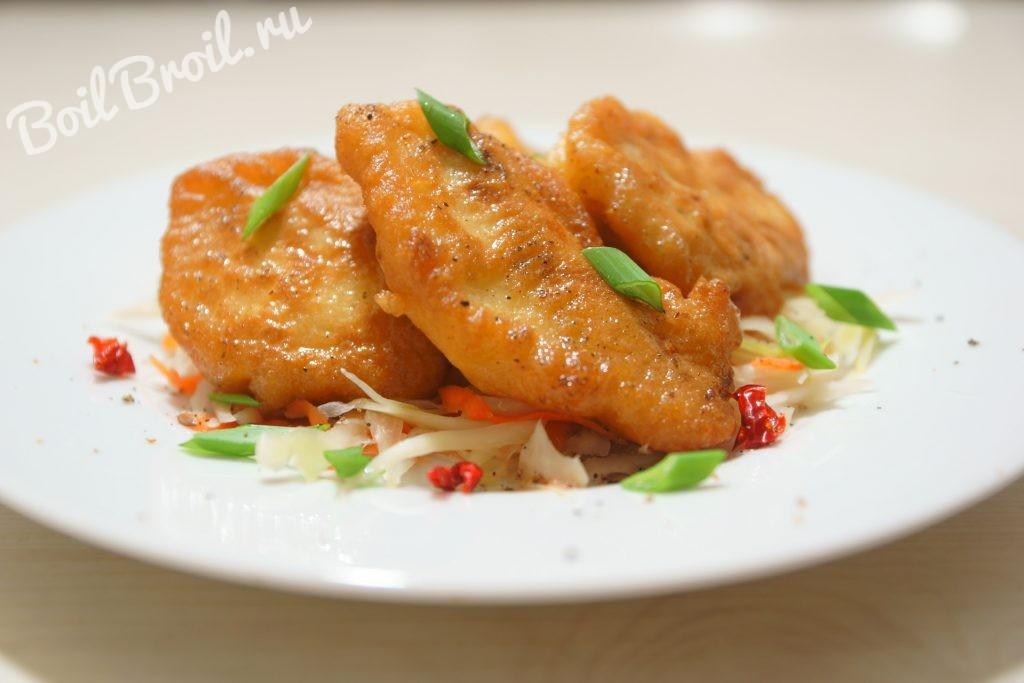филе в кляре на сковороде рецепт с фото